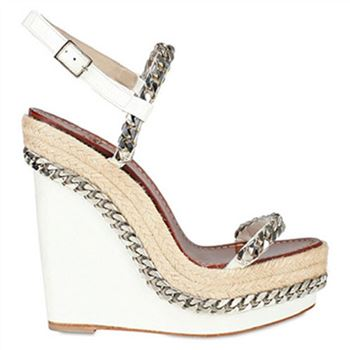 Christian Louboutin Macarena 120mm Wedges White