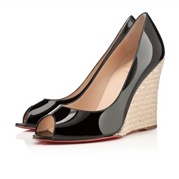 Christian Louboutin puglia 100mm Wedges Black