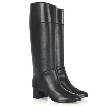 Christian Louboutin Tuba 80mm Boots Black