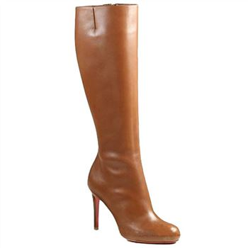 Christian Louboutin Simple Botta 100mm Boots Brown