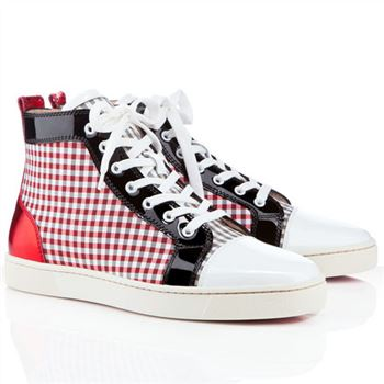 Christian Louboutin Louis Sneakers Red