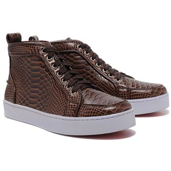 Christian Louboutin Louis Sneakers Brown