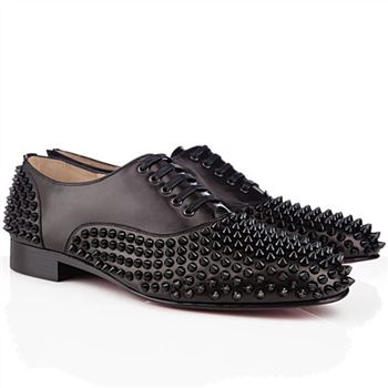 Christian Louboutin Freddy Loafers Black
