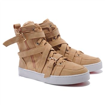 Christian Louboutin Spacer Sneakers Brown