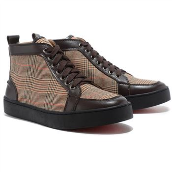 Christian Louboutin Rantulow Sneakers Brown