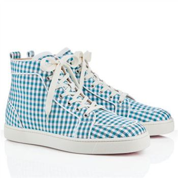 Christian Louboutin Rantulow Sneakers Blue