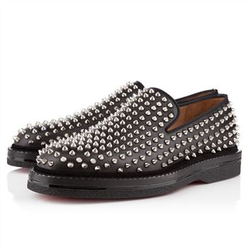 Christian Louboutin Fred Au 14 Loafers Black/Silver