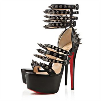 Christian Louboutin Botticellita 160mm Sandals Black