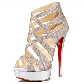 Christian Louboutin Balota 140mm Sandals Multicolor
