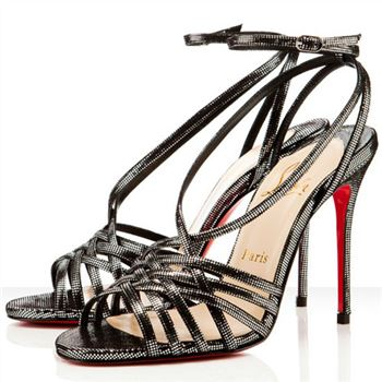 Christian Louboutin Beverly 100mm Sandals Black