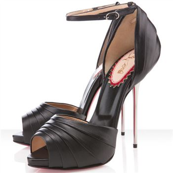 Christian Louboutin Armadillo Bride 120mm Sandals Black