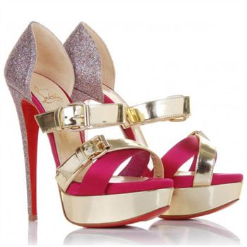 Christian Louboutin Ambertina 140mm Sandals Multicolor