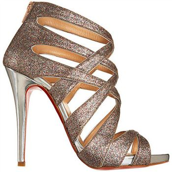 Christian Louboutin Balota 120mm Sandals Multicolor