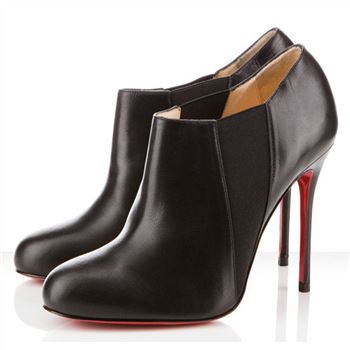Christian Louboutin Lastoto 100mm Ankle Boots Black