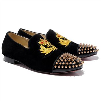 Christian Louboutin Harvanana Loafers Black