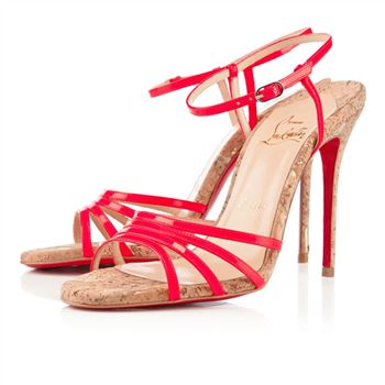 Christian Louboutin Belbride 100mm Sandals Rose Paris