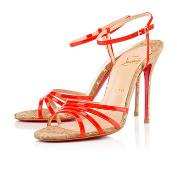 Christian Louboutin Belbride 100mm Sandals Flame