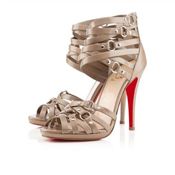 Christian Louboutin Camerona 120mm Sandals Stone