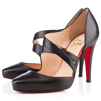 Christian Louboutin Citoyenne 100mm Sandals Black