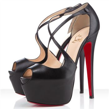 Christian Louboutin Exagona 160mm Sandals Black