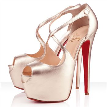 Christian Louboutin Exagona 160mm Sandals Platine