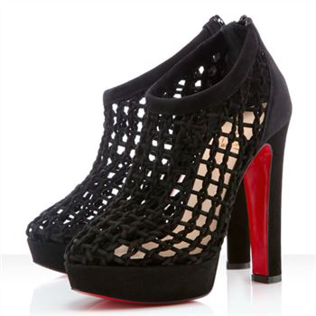 Christian Louboutin Cousinetta 140mm Sandals Black