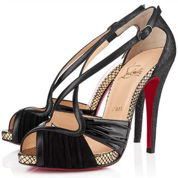 Christian Louboutin Divinoche 120mm Sandals Black
