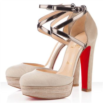 Christian Louboutin La Favorita 140mm Sandals Corde