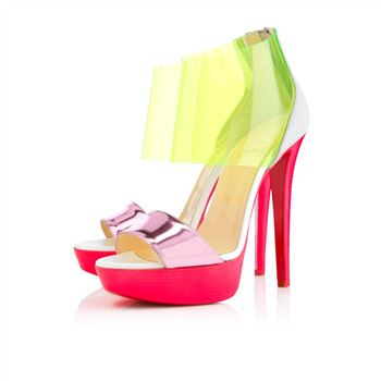 Christian Louboutin Dufoura 140mm Sandals Rose Paris