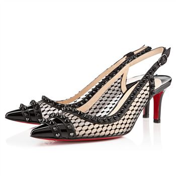 Christian Louboutin Manovra 80mm Sandals Black