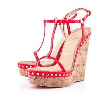 Christian Louboutin Jamie Lee 140mm Sandals Rose Paris