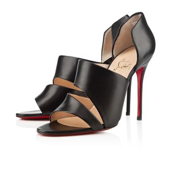 Christian Louboutin Martissimo 100mm Sandals Black