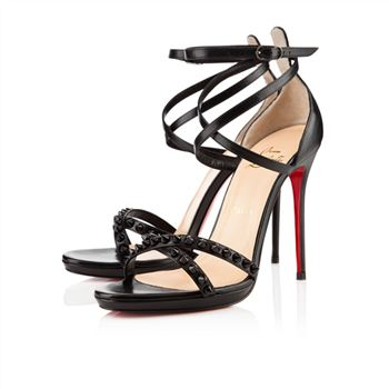 Christian Louboutin Monocronana 120mm Sandals Black