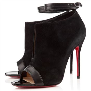 Christian Louboutin Diptic 100mm Sandals Black