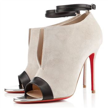 Christian Louboutin Diptic 100mm Sandals Stone
