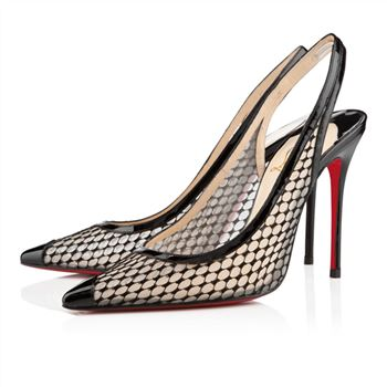 Christian Louboutin Nu et Nu 100mm Sandals Black