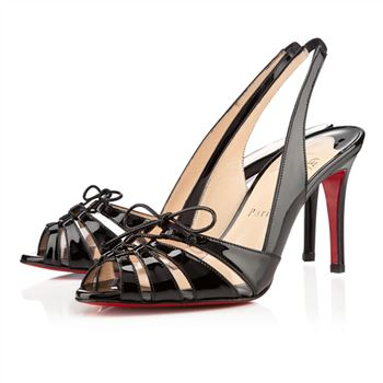 Christian Louboutin Corsetica 80mm Sandals Black