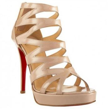 Christian Louboutin Fernando 120mm Sandals Nude