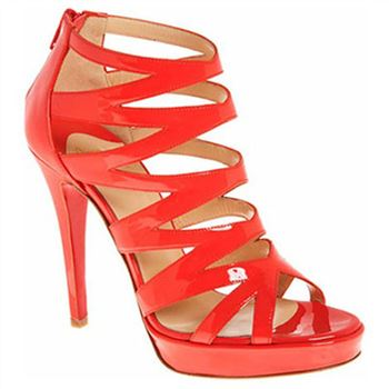 Christian Louboutin Fernando 120mm Sandals Red