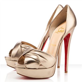 Christian Louboutin Volpi 140mm Sandals Platine