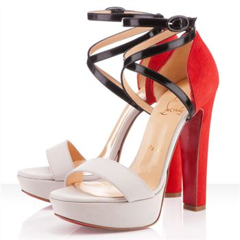 Christian Louboutin Summerissima 140mm Sandals Nude