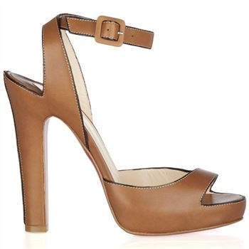 Christian Louboutin Viola 120mm Sandals Brown