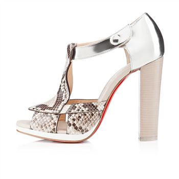 Christian Louboutin Tably 120mm Sandals Sand