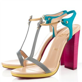 Christian Louboutin Sylvieta 120mm Sandals Hot Pink/Gold