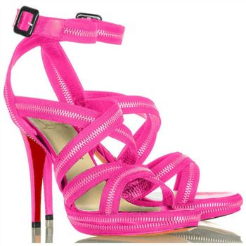 Christian Louboutin Rodita 120mm Sandals Rose Matador