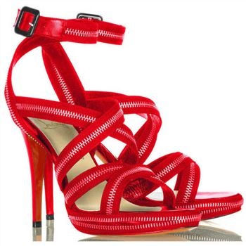 Christian Louboutin Rodita 120mm Sandals Red