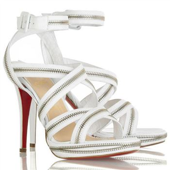 Christian Louboutin Rodita 120mm Sandals White