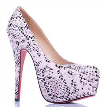 Christian Louboutin Daffodile Lace 160mm Platforms White