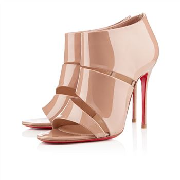 Christian Louboutin Cachottiere 100mm Sandals Nude