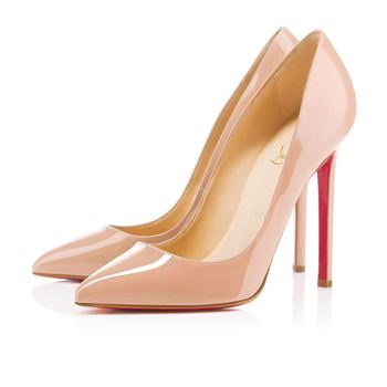 Christian Louboutin Pigalle 120mm Pumps Nude